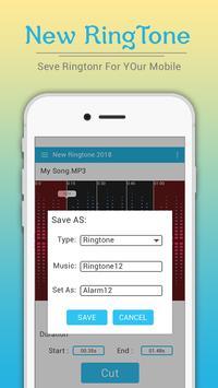 New Ringtones 2018 : MP3 Cutter & Ringtone Maker screenshot 3