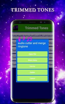 Song cutter and mixer apk screenshot