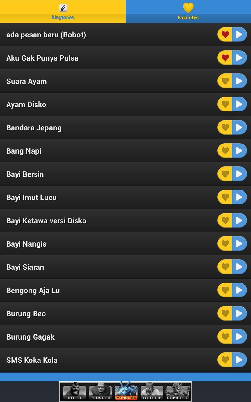 Ringtone Nada Dering Lucu Unik For Android APK Download