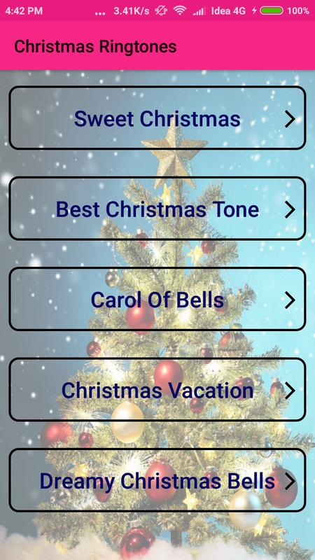 christmas ringtones for free