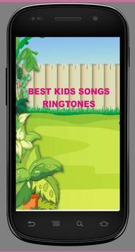 Kids ringtones free screenshot 1