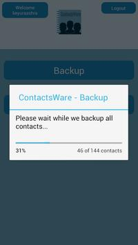 ContactsWare apk screenshot