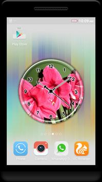 Amaryllis Clock Live Wallpaper screenshot 3