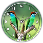 Blue Throated BeeEaterClockLWP icon