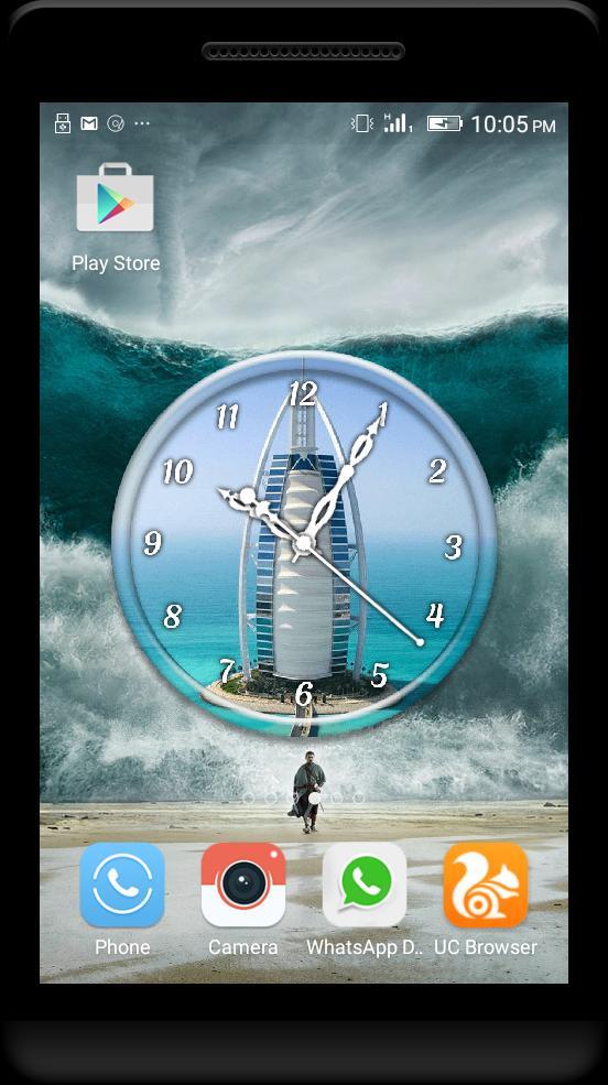 Dubai Clock Live Wallpaper for Android - APK Download