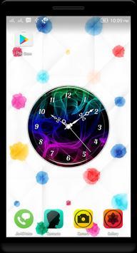 Smoke Clock Live Wallpaper poster