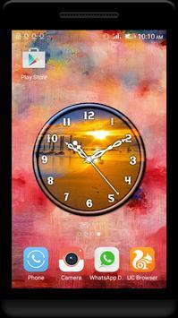 Sunrise Clock Live Wallpaper apk screenshot