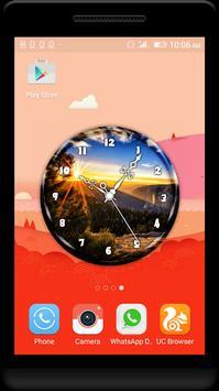 Sunrise Clock Live Wallpaper poster
