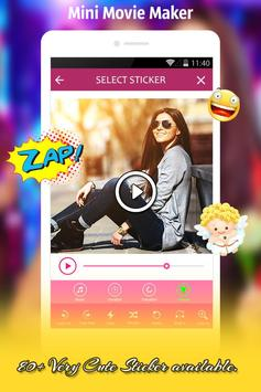 Mini Movie Video Maker apk screenshot
