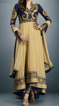 New Anarkali Dress Design 2017 screenshot 1