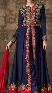 New Anarkali Dress Design 2017 screenshot 2