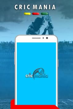 Cricmania ( Live Score And News Update ) poster