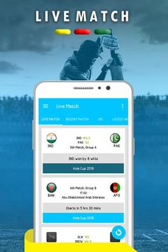 Cricmania ( Live Score And News Update ) screenshot 1