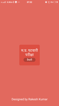 MP Patwari Exam poster