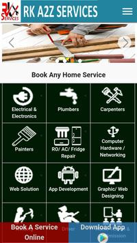 RK A2Z SERVICES poster