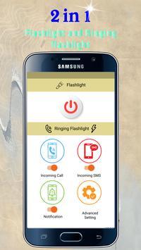 Flash Alerts on Call & SMS - Ringing Flashlight screenshot 4