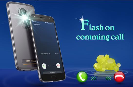 Flash Alerts on Call & SMS - Ringing Flashlight screenshot 2