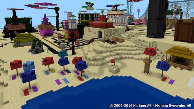 Bikini Bottom map for MCPE apk screenshot