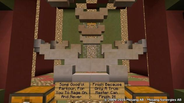 Christmas Minigame MCPE map poster