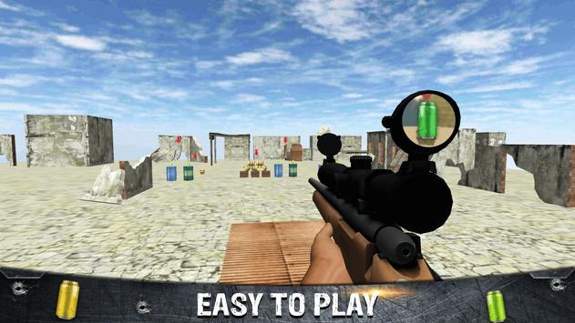 Tin Shooting Target - Sniper Games screenshot 1