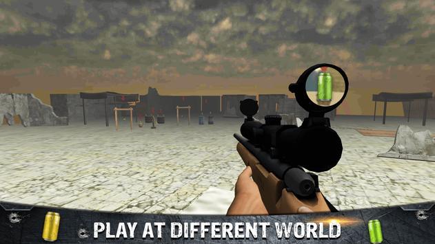 Tin Shooting Target - Sniper Games screenshot 3