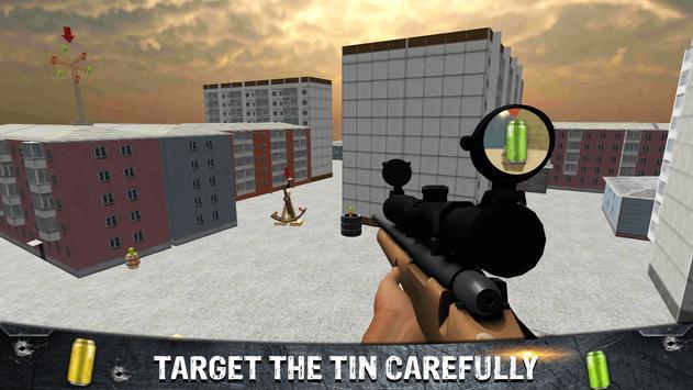 Tin Shooting Target - Sniper Games screenshot 5