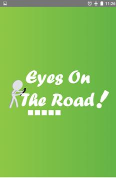 Eyes On The Road (Pedestrian) poster