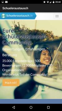 Schueleraustausch.de poster
