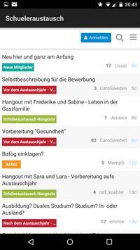 Schueleraustausch.de screenshot 4