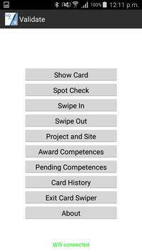 HS2 Site Access NFC screenshot 3