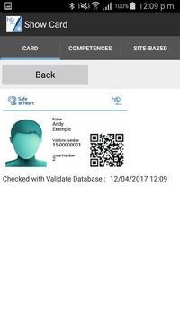 HS2 Site Access NFC screenshot 1