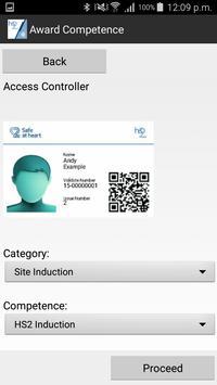 HS2 Site Access NFC screenshot 2