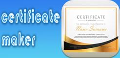 Certificate Maker Pro &  Create Certificate