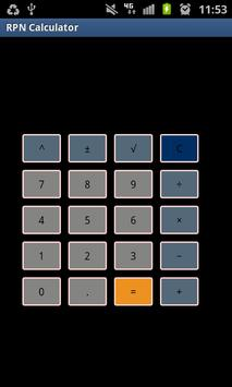 Simple RPN Calculator poster