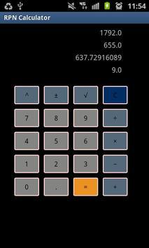 Simple RPN Calculator screenshot 1