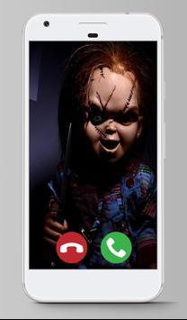 Call From  Killer Chucky Prank apk screenshot