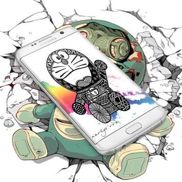 Doraemon live wallpaper 4K poster