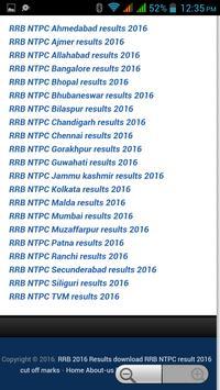 RRB NTPC RESULTS screenshot 1