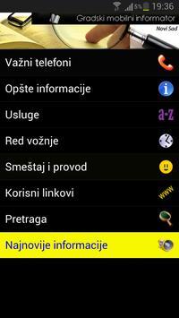 Sremska Mitrovica - City Info poster