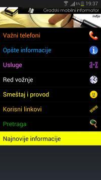 Sremska Mitrovica - City Info apk screenshot