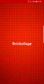 Brickollage poster