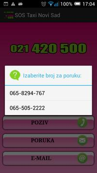 SOS Taxi Novi Sad screenshot 4