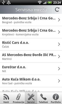 Mercedes-Benz Moj Mercedes apk screenshot