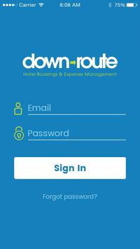 PJC Down-Route poster