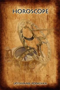 Horoscope poster