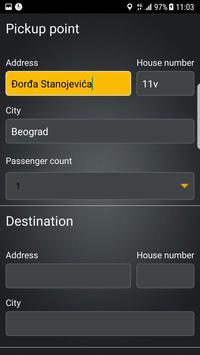 TAKSI taxi Srbija apk screenshot