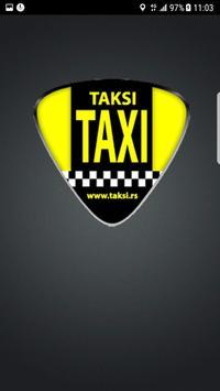TAKSI taxi Srbija poster