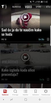 Telegraf Najnovije Vesti apk screenshot