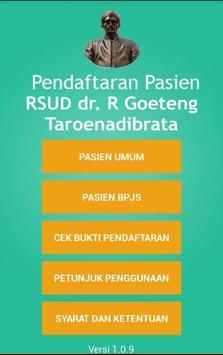 Pendaftaran Online RSUD Purbalingga poster