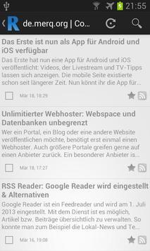 RSSly - Dein RSS-Reader poster